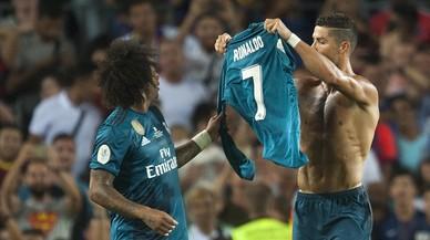 I el Camp Nou coreja Cristiano