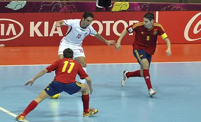 España se mete en semifinales tras eliminar a Rusia
