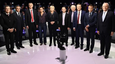 Macron retreu a Le Pen que repeteixi les mateixes mentides que el seu pare