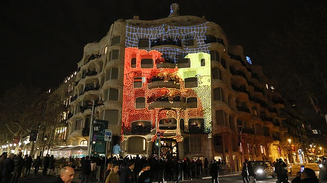 Un espect�culo de luz y m�sica en La Pedrera pretende rendir homenaje a Granados.
