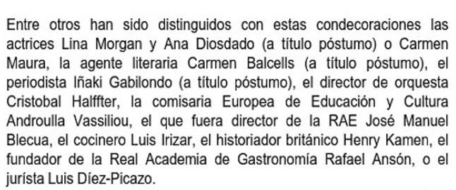 El Ministerio de Cultura 'mata' a I�aki Gabilondo