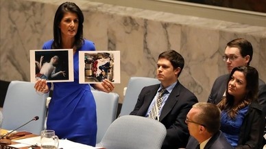 La ONU responsabiliza a Damasco de la matanza de 83 civiles con gas sarín en abril