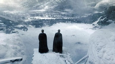 Un bloque de hielo desvela la fecha de estreno de 'Juego de tronos'