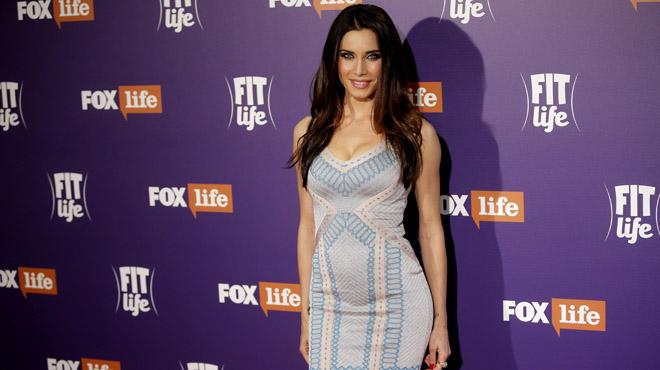 Pilar Rubio durante la presentación del nuevo programa Fit Life, en la cadena Fox.