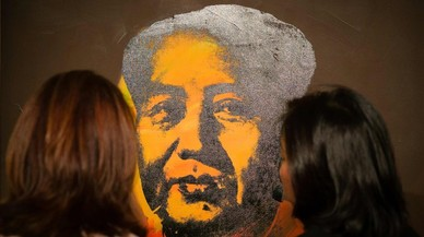 Un retrato serigrafiado de Mao obra de Andy Warhol, a subasta en Hong Kong