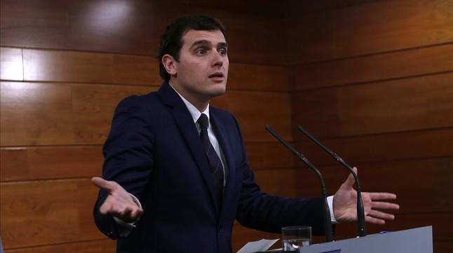 Ciudadanos insiste en que no entrará en un Gobierno del PP