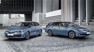 Toyota Auris, evoluci�n con l�gica