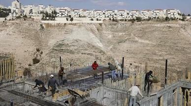 """La Casa Blanca avisa a Israel de que ampliar asentamientos """"puede no ayudar"""" a la paz"""