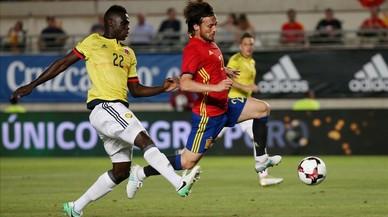 Audiencias: El España-Colombia golea con 4,6 millones