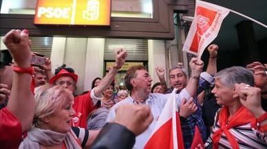 Catalunya, Valencia y Madrid apuntalan el triunfo de Sánchez en el PSOE