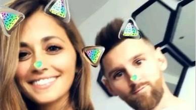 Messi cambia de 'look' y se divierte en Instagram