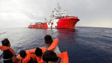 Save The Children atura les operacions al Mediterrani