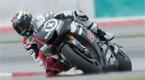 Jorge Lorenzo pilota su nueva Yamaha de 1.000 cc (a�n sin el dise�o del chasis definitivo) durante la primera toma de contacto de la pretemporada, en el circuito malasio de Sepang.