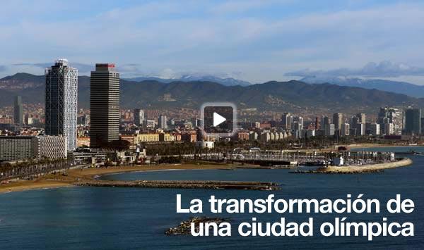 La transformación de una ciudad olímpica en vídeo