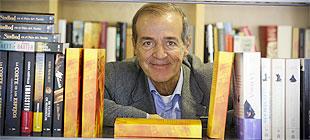 El escritor italiano, en Barcelona.