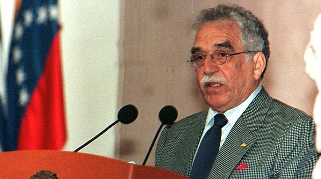 García Márquez, en Zacatecas, en 1997