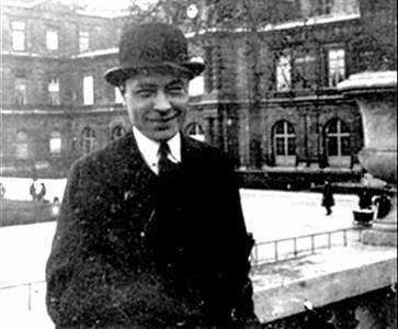 El joven Josep Pla, en Par�s.