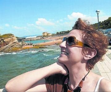 Pilar Garc�a, en una foto tomada el pasado verano en Santander.