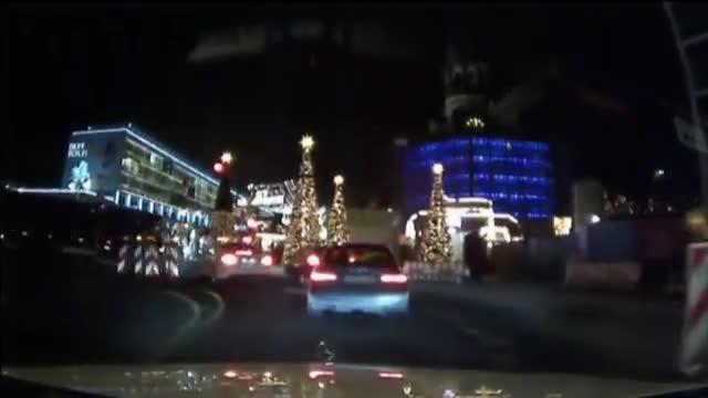 Vídeo del momento en que el camión arrolla el mercado navideño de Berlín
