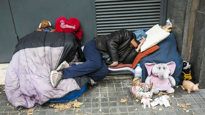 La desigualdad social aumenta en España a pesar del crecimiento. El 1% más rico del país acumula la cuarta parte de la riqueza
