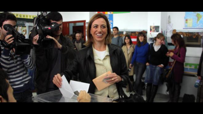Carme Chacón serà suplent en una mesa electoral a Esplugues