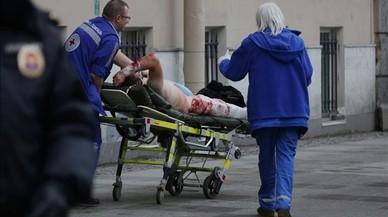 Aquestes són les imatges de l'explosió al metro de Sant Petersburg