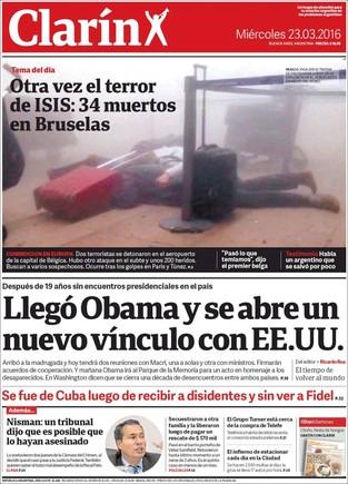 Bruselas acapara las portadas de los principales medios internacionales