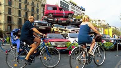 El Dia sense Cotxes posarà a prova una Barcelona sense Via Laietana i Gran de Gràcia