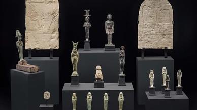 La pequeña pero valiosa colección Cano, en el Museu Egipci