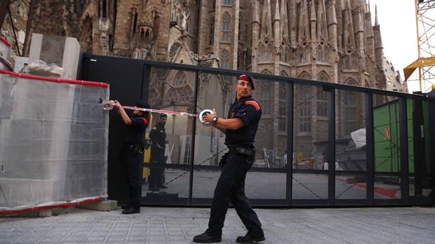 Els Mossos confirmen que l'alerta de la Sagrada Família era una falsa alarma