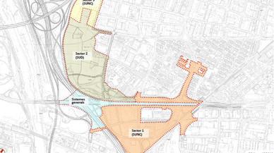 Mapa de la nueva planificaci�n.