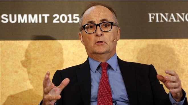 El subgobernador del Banco de Espa�a, Fernando Restoy, en un acto de FT Spain Summit, en octubre del 2015.