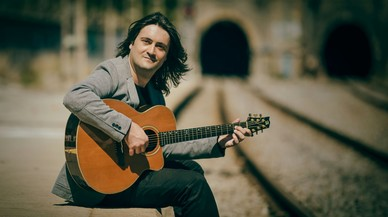 El cantautor colomense Javi Jareño presenta su nuevo disco en el Teatre Sagarra
