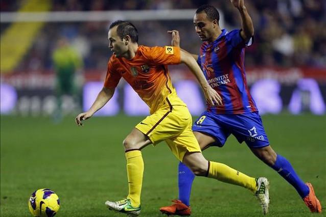 El Barça arrolla al Levante con once de la casa (0-4)