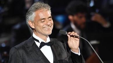 Andrea Bocelli cancel·la el seu concert a Cap Roig per una bronquitis
