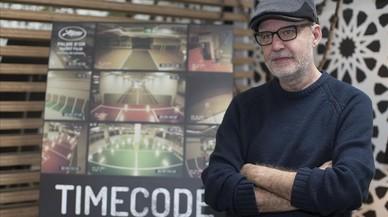 Juanjo Giménez, director de 'Timecode', fotografíado en Los Ángeles.