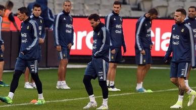 Messi dice que sueña con acabar su carrera en el Barça