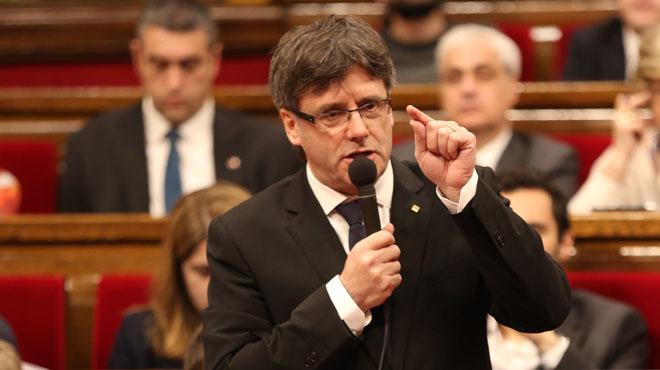 Puigdemont se escuda en que no hay negociaciones con Rajoy