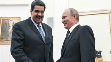 Maduro agradece el respaldo de Putin en la crisis de Venezuela