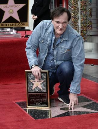 Quentin Tarantino recibe su estrella en el Paseo de la Fama