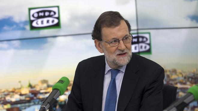 Rajoy confia que plogui per abaixar el preu de la llum