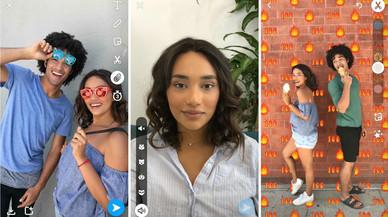 Snapchat copia Instagram: ja pots afegir enllaços i decorar les fotos amb estampats