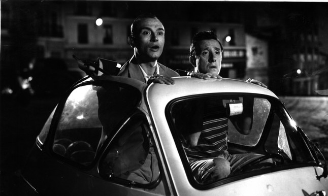 Tony Leblanc y Manolo G�mez Brur.