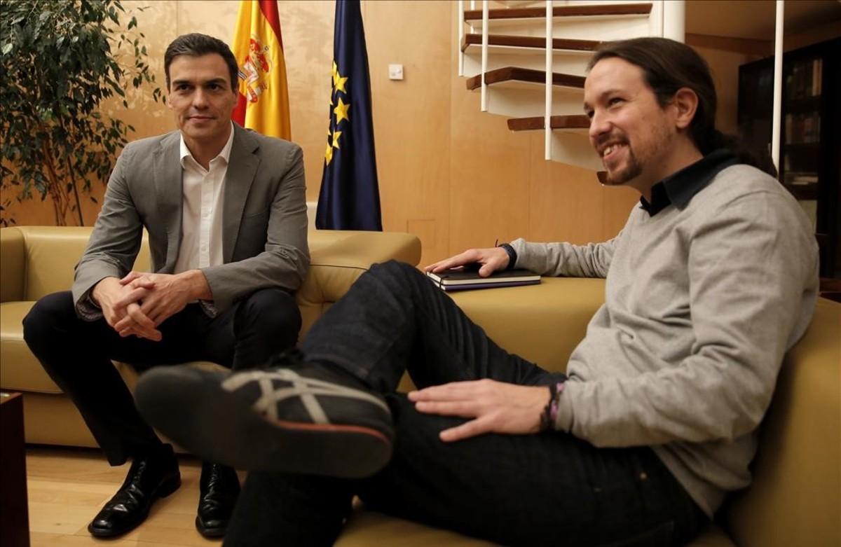 """S�nchez oferir� a Iglesias ministeris i """"millorar"""" el pacte amb C's"""