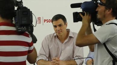 Sánchez prepara una ronda de contactes amb els barons per tractar la investidura de Rajoy