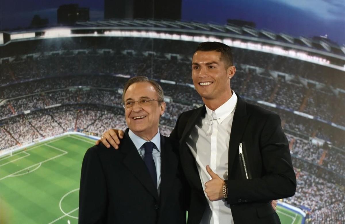"""Florentino Pérez: """"No contemplo que Cristiano pugui sortir del Madrid en aquest moment"""""""