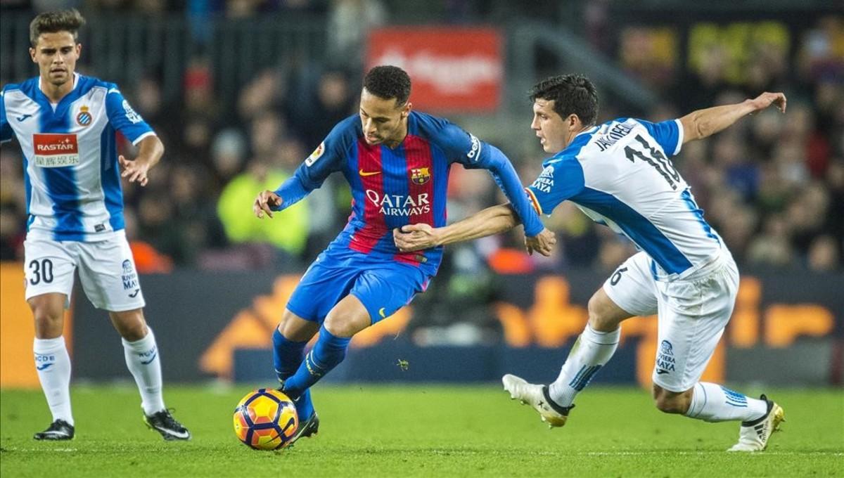 Horari i on veure per la tele l'Espanyol - Barcelona