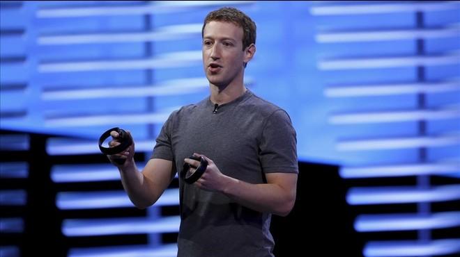 Zuckerberg, durante su conferencia en San Francisco (California), este martes.