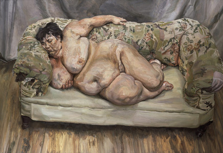 'Benefits Supervisor Sleeping', de Lucian Freud.,
