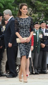 Kate Middleton de blonda negra en Canad�